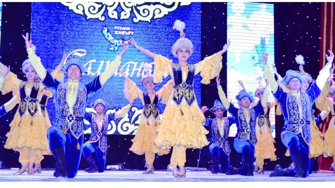 Гастроль государственного ансамбля танца Республики Казахстан «Салтанат» в городе Уральск
