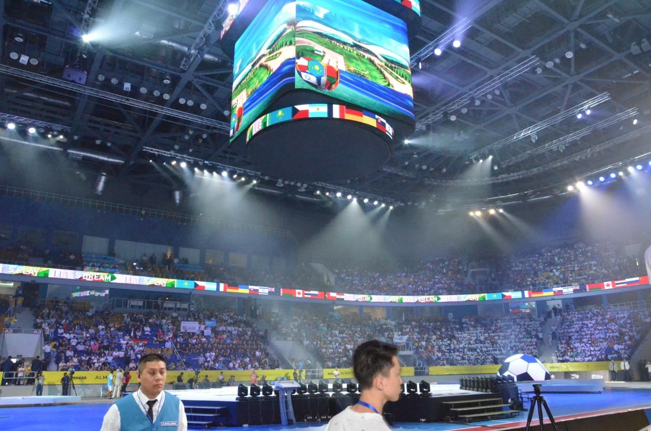 Алматы принимает чемпионат мира по футзалу среди студентов